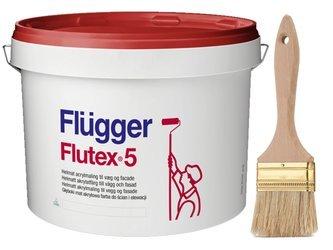 Flugger farba matowa FLUTEX 5 BIAŁA 0,7L 5m2