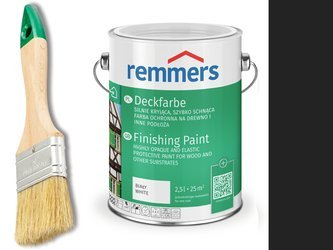 Remmers Farba do drzwi mebli ocynk CZARNY 0,75 L