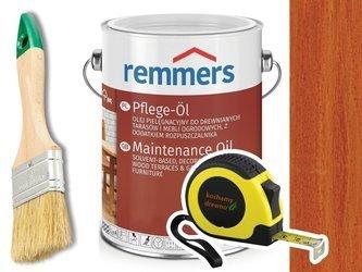 Remmers Pflege-Ol olej do drewna tarasu MAHOŃ 2,5L