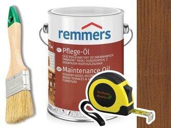 Remmers Pflege-Ol olej do drewna tarasu ORZECH 5L