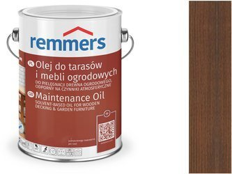 Remmers Pflege-ol olejowania tarasu ORZECH 100ml