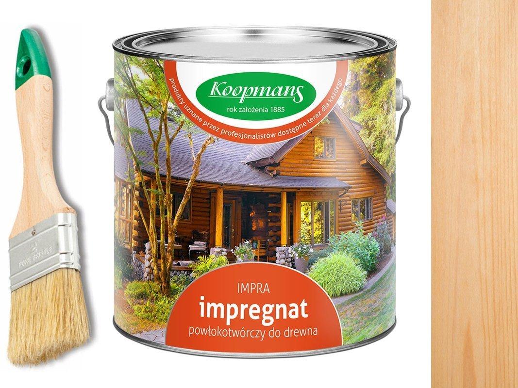 Impregnat IMPRA Koopmans 2,5L - BEZBARWNY UV