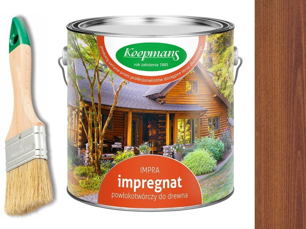 Impregnat IMPRA Koopmans 20L - 111 TEAK NATURALNY