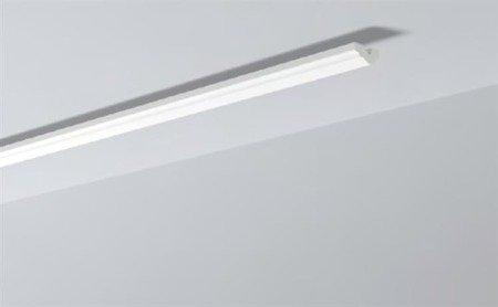 LISTWY PRZYSUFITOWE Białe NOMASTYL O 40x20mm