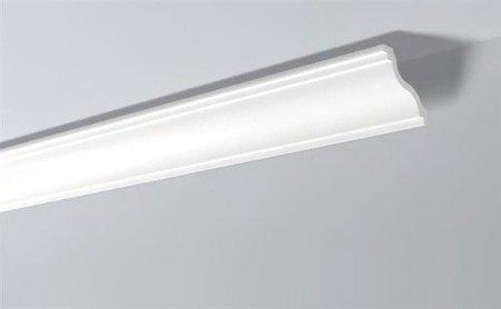 LISTWY PRZYSUFITOWE Białe NOMASTYL SL 100x100mm