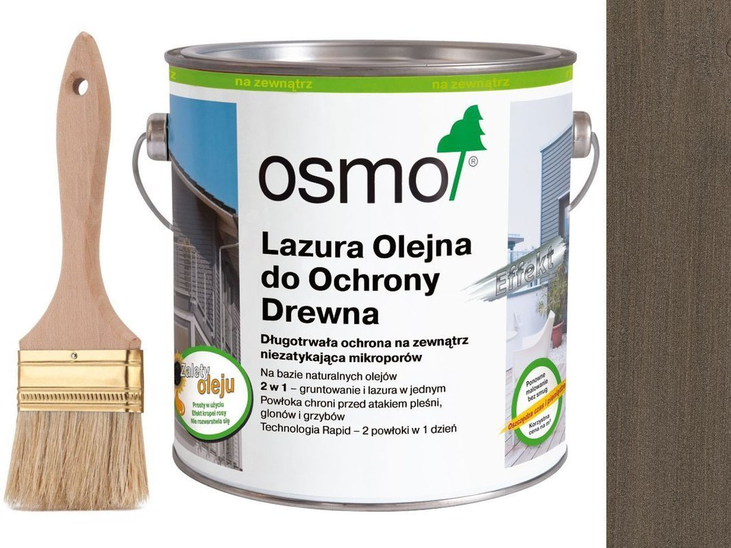 OSMO 1143 Lazura Olejna Efekt SREBRNY ONYX 25L