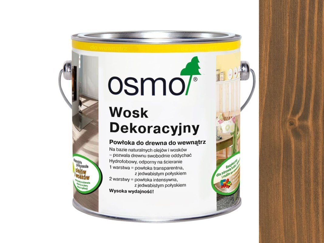 OSMO 3166 wosk dekoracyjny KOLOR ORZECH 125ml
