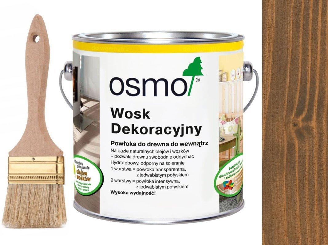 OSMO 3166 wosk dekoracyjny KOLOR ORZECH 25L