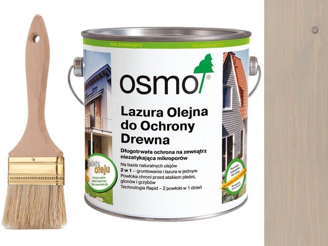 OSMO 906 Lazura Ochronna do drewna SZARY 25L