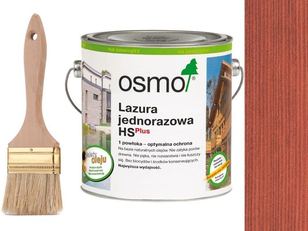 OSMO Lazura Jednorazowa 9234 CZERWIEŃ 25L