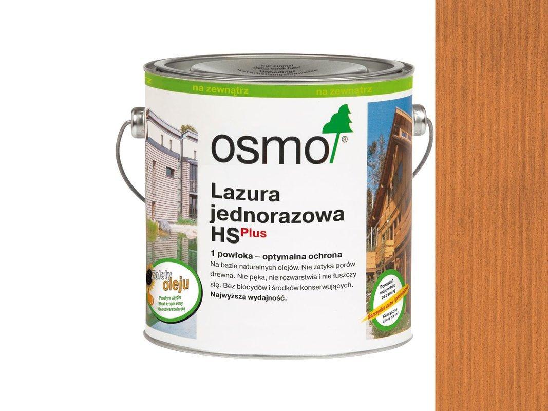 OSMO Lazura Jednorazowa 9235 CZERWONY CEDR 0,125L