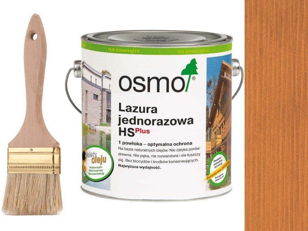 OSMO Lazura Jednorazowa 9235 CZERWONY CEDR 25L