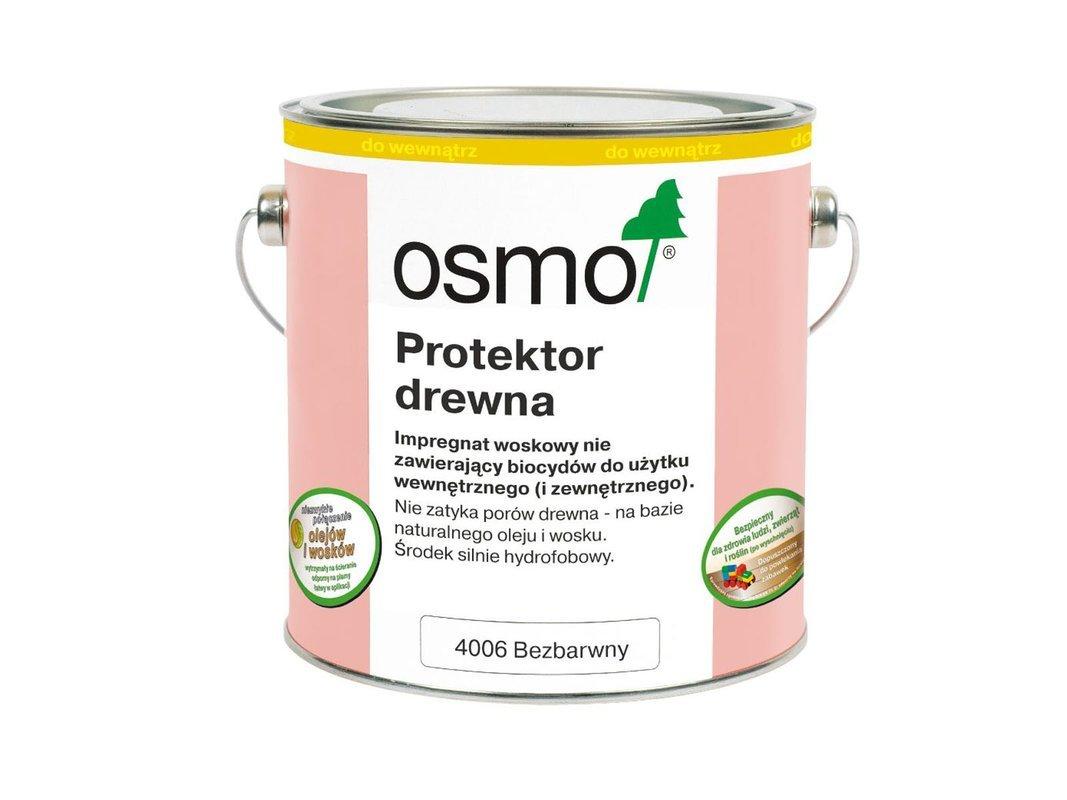 OSMO Protektor do Drewna BEZBARWNY 4006 2,5L