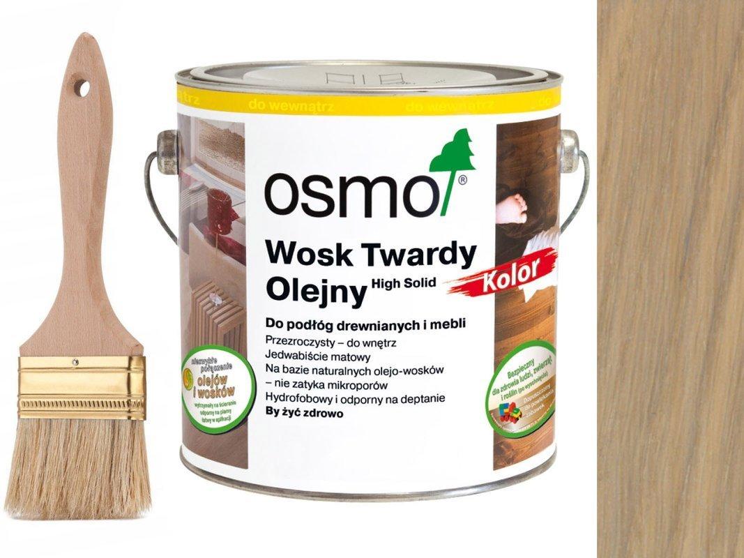 Osmo 3040 wosk twardy olejny olej wosk 2,5L BIAŁY