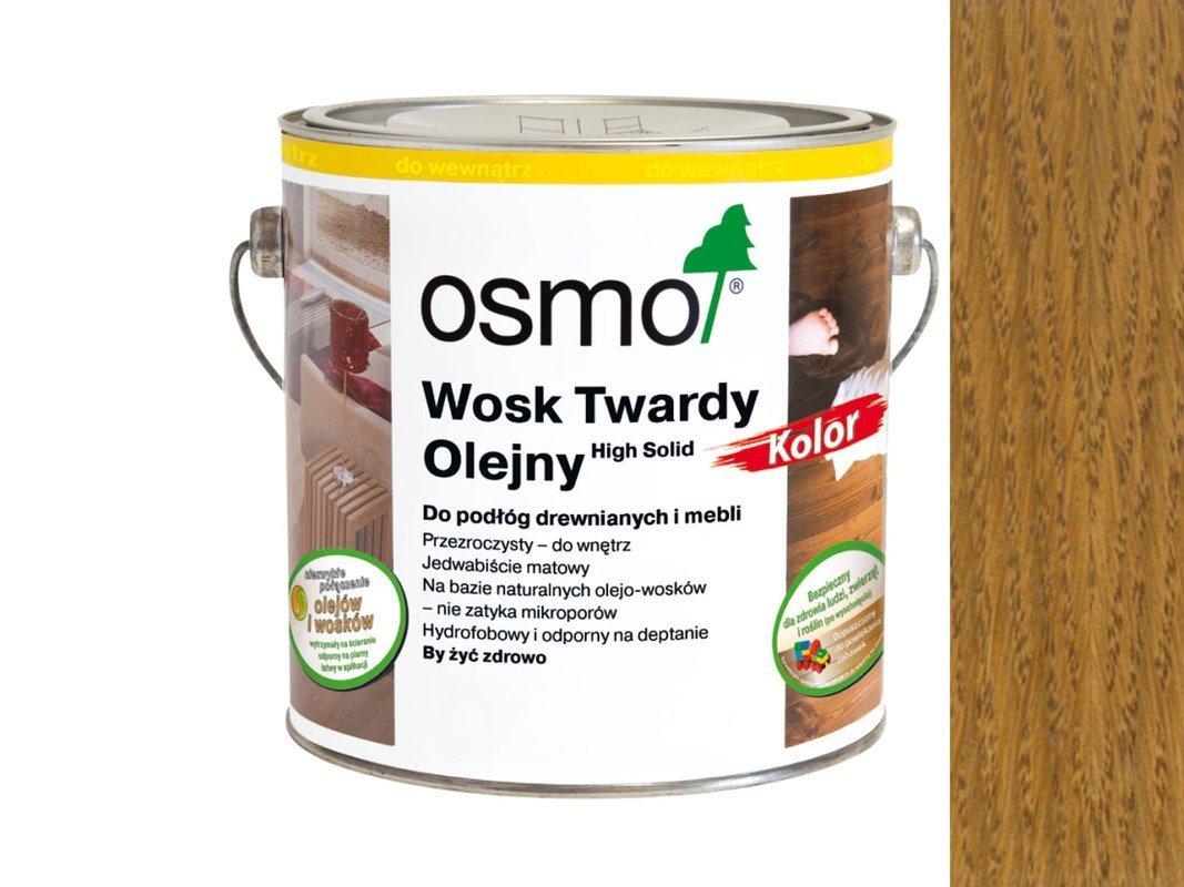 Osmo 3072 wosk twardy olejny olej 0,125 L BURSZTYN
