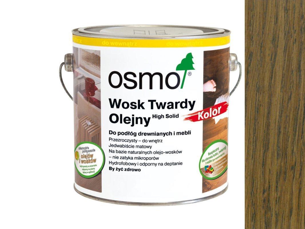 Osmo 3075 wosk twardy olejny olej 0,125 L CZARNY