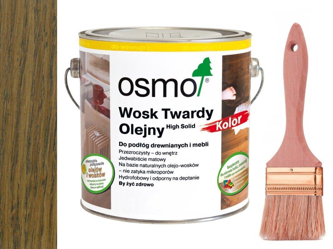 Osmo 3075 wosk twardy olejny olej 25L CZARNY